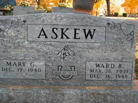 ASKEW, WARD B. - Boone County, Arkansas | WARD B. ASKEW - Arkansas Gravestone Photos