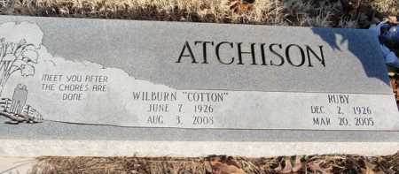 ATCHISON, RUBY - Boone County, Arkansas | RUBY ATCHISON - Arkansas Gravestone Photos