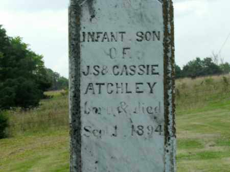 ATCHLEY, INFANT SON - Boone County, Arkansas | INFANT SON ATCHLEY - Arkansas Gravestone Photos