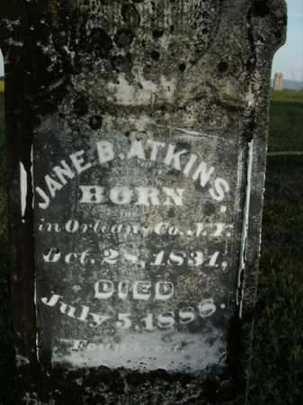 ATKINS, JANE B. - Boone County, Arkansas | JANE B. ATKINS - Arkansas Gravestone Photos