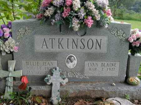 ATKINSON, BILLIE JEAN - Boone County, Arkansas | BILLIE JEAN ATKINSON - Arkansas Gravestone Photos