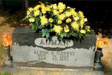 AUMAN, ALTON - Boone County, Arkansas | ALTON AUMAN - Arkansas Gravestone Photos