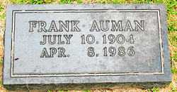 AUMAN, FRANK - Boone County, Arkansas | FRANK AUMAN - Arkansas Gravestone Photos
