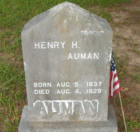 AUMAN, HENRY H. - Boone County, Arkansas | HENRY H. AUMAN - Arkansas Gravestone Photos