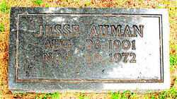 AUMAN, JESSIE - Boone County, Arkansas | JESSIE AUMAN - Arkansas Gravestone Photos