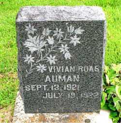 AUMAN, VIVIAN ROAS - Boone County, Arkansas | VIVIAN ROAS AUMAN - Arkansas Gravestone Photos
