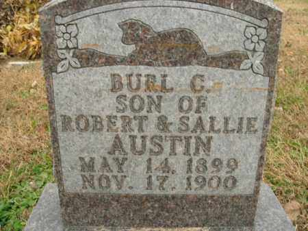 AUSTIN, BURL C. - Boone County, Arkansas | BURL C. AUSTIN - Arkansas Gravestone Photos