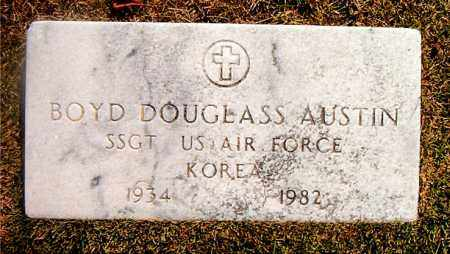 AUSTIN  (VETERAN KOR), BOYD DOUGLASS - Boone County, Arkansas | BOYD DOUGLASS AUSTIN  (VETERAN KOR) - Arkansas Gravestone Photos