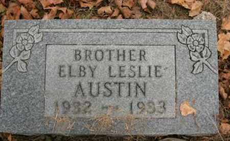 AUSTIN, ELBY LESLIE - Boone County, Arkansas | ELBY LESLIE AUSTIN - Arkansas Gravestone Photos