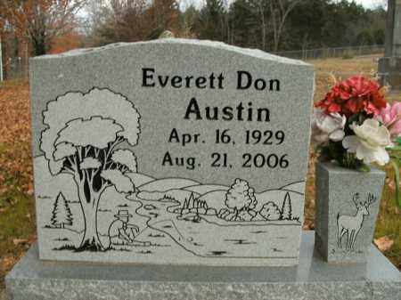 AUSTIN, EVERETT DON - Boone County, Arkansas | EVERETT DON AUSTIN - Arkansas Gravestone Photos