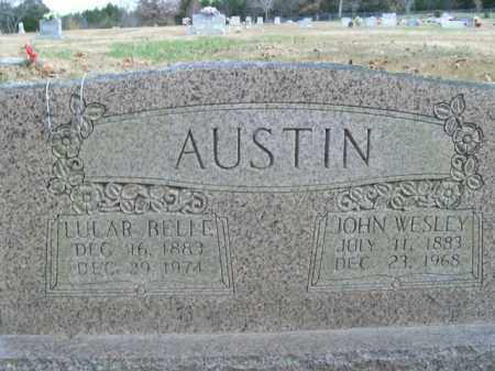 AUSTIN, LULAR BELLE - Boone County, Arkansas | LULAR BELLE AUSTIN - Arkansas Gravestone Photos