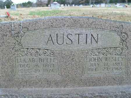 AUSTIN, JOHN WESLEY - Boone County, Arkansas | JOHN WESLEY AUSTIN - Arkansas Gravestone Photos