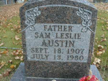 AUSTIN, SAM LESLIE - Boone County, Arkansas | SAM LESLIE AUSTIN - Arkansas Gravestone Photos