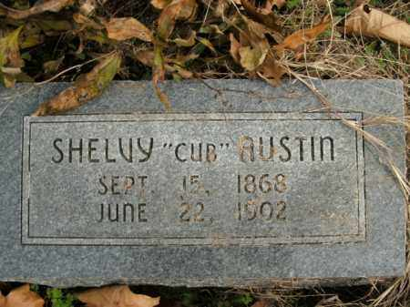 AUSTIN, SHELVY - Boone County, Arkansas | SHELVY AUSTIN - Arkansas Gravestone Photos