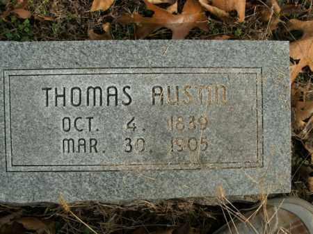 AUSTIN, THOMAS - Boone County, Arkansas | THOMAS AUSTIN - Arkansas Gravestone Photos