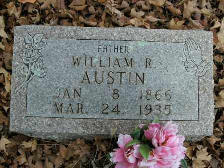 AUSTIN, WILLIAM R. - Boone County, Arkansas | WILLIAM R. AUSTIN - Arkansas Gravestone Photos