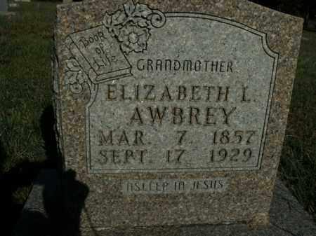 AWBREY, ELIZABETH L. - Boone County, Arkansas | ELIZABETH L. AWBREY - Arkansas Gravestone Photos