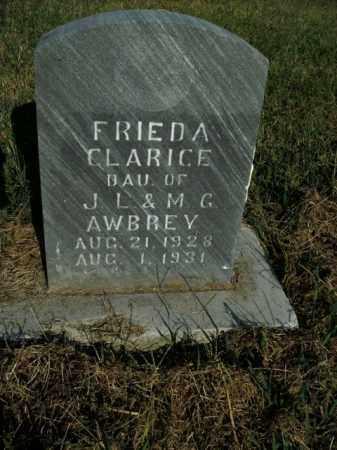 AWBREY, FRIEDA CLARICE - Boone County, Arkansas | FRIEDA CLARICE AWBREY - Arkansas Gravestone Photos