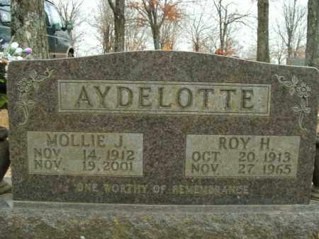 AYDELOTTE, MOLLIE J. - Boone County, Arkansas | MOLLIE J. AYDELOTTE - Arkansas Gravestone Photos