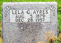 AYRES, LELA G. - Boone County, Arkansas | LELA G. AYRES - Arkansas Gravestone Photos