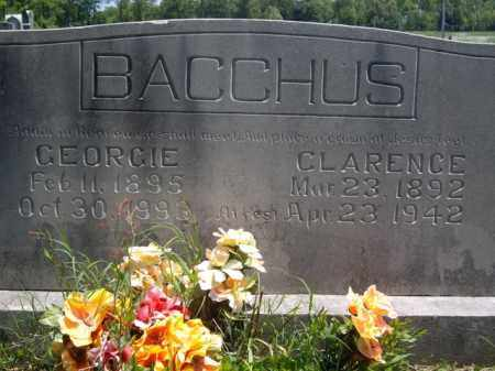 BACCHUS, GEORGIE - Boone County, Arkansas | GEORGIE BACCHUS - Arkansas Gravestone Photos