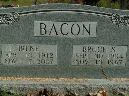 BACON, BRUCE STINSON - Boone County, Arkansas | BRUCE STINSON BACON - Arkansas Gravestone Photos