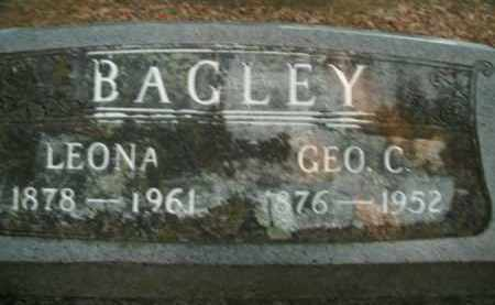 BAGLEY, GEORGE C. - Boone County, Arkansas | GEORGE C. BAGLEY - Arkansas Gravestone Photos
