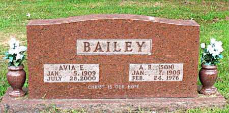 BAILEY, AVIA E - Boone County, Arkansas | AVIA E BAILEY - Arkansas Gravestone Photos