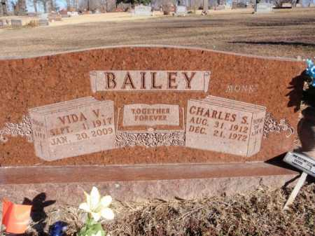 BAILEY, CHARLES S - Boone County, Arkansas | CHARLES S BAILEY - Arkansas Gravestone Photos