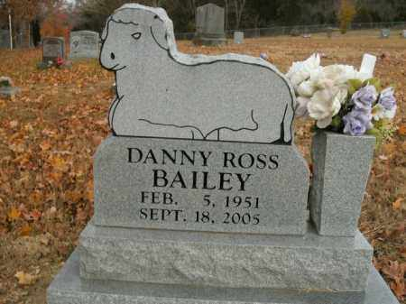 BAILEY, DANNY ROSS - Boone County, Arkansas | DANNY ROSS BAILEY - Arkansas Gravestone Photos