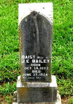 BAILEY, DAISY (INDIVIDUAL STONE) - Boone County, Arkansas | DAISY (INDIVIDUAL STONE) BAILEY - Arkansas Gravestone Photos
