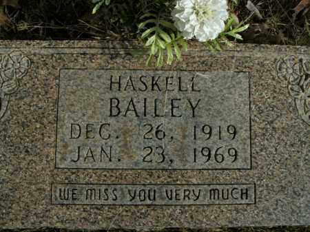 BAILEY, HASKELL - Boone County, Arkansas | HASKELL BAILEY - Arkansas Gravestone Photos