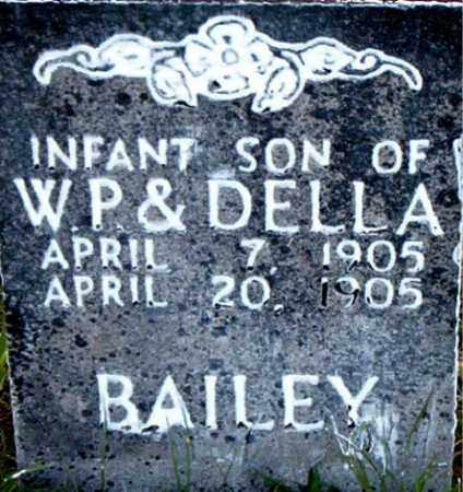 BAILEY, INFANT SON - Boone County, Arkansas | INFANT SON BAILEY - Arkansas Gravestone Photos