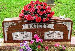 RUSSELL BAILEY, DAISY - Boone County, Arkansas | DAISY RUSSELL BAILEY - Arkansas Gravestone Photos
