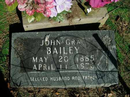 BAILEY, JOHN GRAY - Boone County, Arkansas | JOHN GRAY BAILEY - Arkansas Gravestone Photos