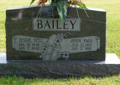 BAILEY, JESSIE DELL - Boone County, Arkansas | JESSIE DELL BAILEY - Arkansas Gravestone Photos