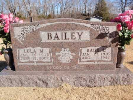 BAILEY, ONNIE LEE (BAUD) - Boone County, Arkansas | ONNIE LEE (BAUD) BAILEY - Arkansas Gravestone Photos