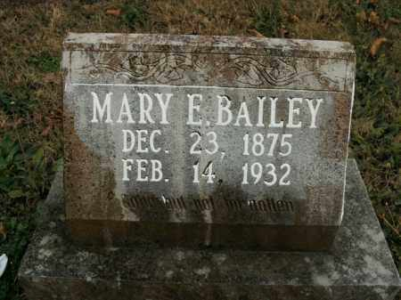 BAILEY, MARY E. - Boone County, Arkansas | MARY E. BAILEY - Arkansas Gravestone Photos