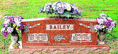 BAILEY, HARLAND - Boone County, Arkansas | HARLAND BAILEY - Arkansas Gravestone Photos