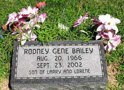 BAILEY, RODNEY GENE - Boone County, Arkansas | RODNEY GENE BAILEY - Arkansas Gravestone Photos