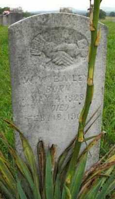 BAILEY, W.W. - Boone County, Arkansas | W.W. BAILEY - Arkansas Gravestone Photos