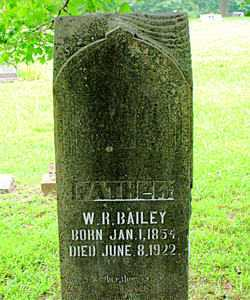 BAILEY, WILLIAM RILEY - Boone County, Arkansas | WILLIAM RILEY BAILEY - Arkansas Gravestone Photos