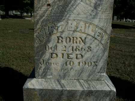 BAILEY, WIRT - Boone County, Arkansas | WIRT BAILEY - Arkansas Gravestone Photos