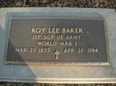 BAKER  (VETERAN WWI), ROY LEE - Boone County, Arkansas | ROY LEE BAKER  (VETERAN WWI) - Arkansas Gravestone Photos