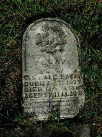 BAKER, CLAY - Boone County, Arkansas | CLAY BAKER - Arkansas Gravestone Photos