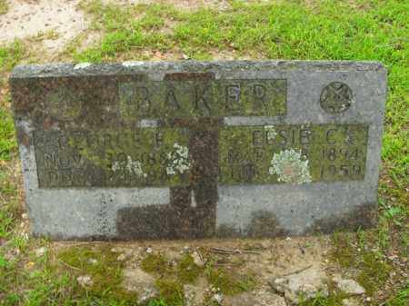 BAKER, GEORGE F. - Boone County, Arkansas | GEORGE F. BAKER - Arkansas Gravestone Photos