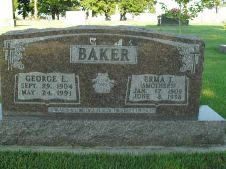 BAKER, ERMA I. - Boone County, Arkansas | ERMA I. BAKER - Arkansas Gravestone Photos
