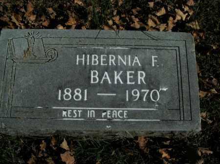 BAKER, HIBERNIA F. - Boone County, Arkansas | HIBERNIA F. BAKER - Arkansas Gravestone Photos