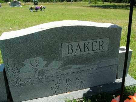 BAKER, JOHN W. - Boone County, Arkansas | JOHN W. BAKER - Arkansas Gravestone Photos
