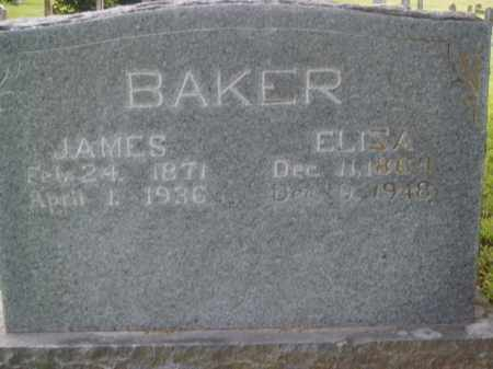 BAKER, JAMES - Boone County, Arkansas | JAMES BAKER - Arkansas Gravestone Photos